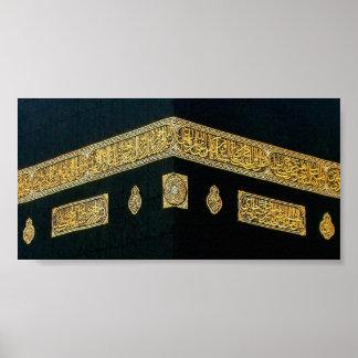 Islam Islamic Hajj Eid al Fitr Adha Mubarak Arabic Poster