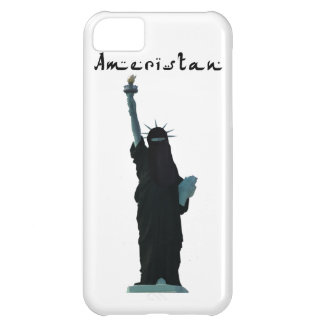 Islam Muslim version USA Statue of Liberty Hijab iPhone 5C Case