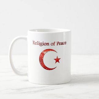 Islam Religion of Peace Coffee Mug - Muslim, Allah