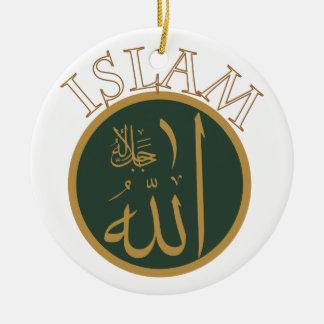 Islam Round Ceramic Decoration