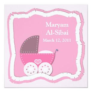 Islam Aqiqah Invitations Stationery Zazzle Au