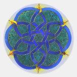 Islamic Art Classic Round Sticker