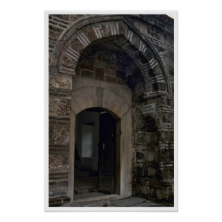 Islamic Building And Doors Poster