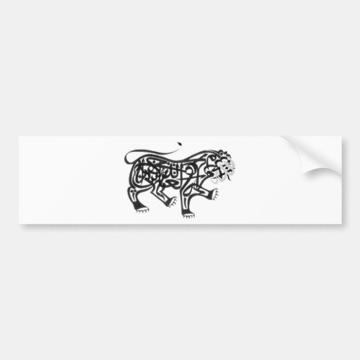 Islamic Calligraphy Bumper Stickers