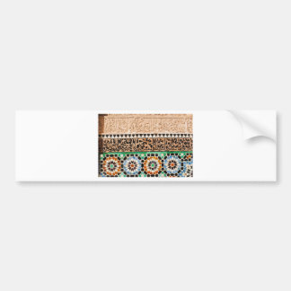 Islamic Designs Bumper Sticker