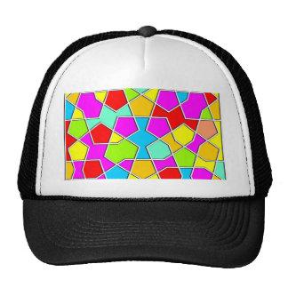 islamic geometric pattern cap