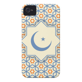 islamic geometric pattern Case-Mate iPhone 4 case