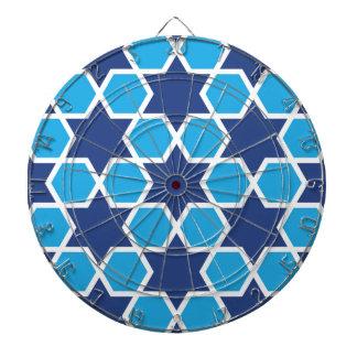 islamic geometric pattern dartboards