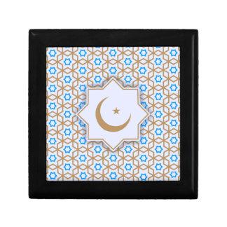 islamic geometric pattern gift box