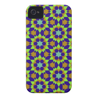 islamic geometric pattern iPhone 4 case