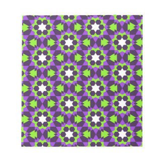 islamic geometric pattern notepad