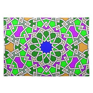 Islamic geometric pattern Placemat