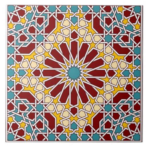 how to create islamic geometric patterns