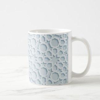 islamic inspired moroccan geometric pattern mug