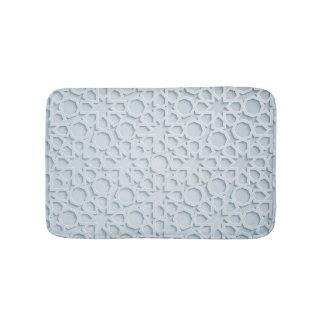 islamic moroccan geometric pattern bath mat