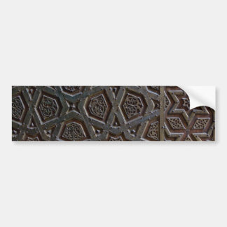 Islamic Pattern Bumper Sticker