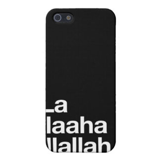 Islamic Shahada in English Covers For iPhone 5