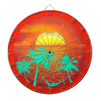 ISLAMORADA KEY FL TROPICAL DESTINATION DARTBOARD