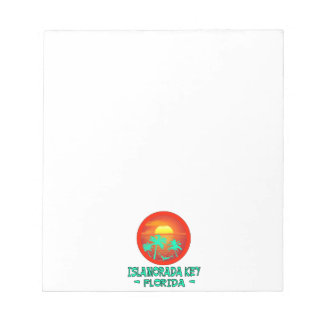ISLAMORADA KEY FL TROPICAL DESTINATION NOTEPAD