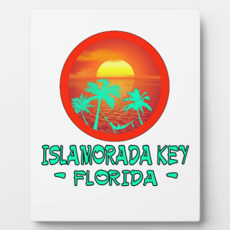 ISLAMORADA KEY FL TROPICAL DESTINATION PLAQUE