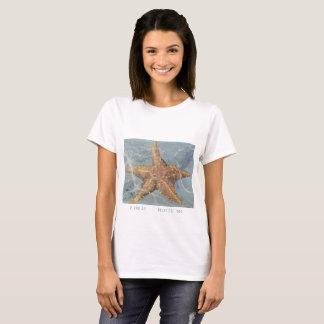 Island Art Starfish  Panama T-shirt by Yotigo
