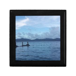 Island Boat Dock Gift Box