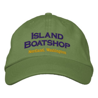 Island Boatshop cap Embroidered Baseball Cap