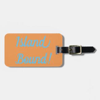 Island Bound Luggage Tag