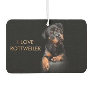 Island Breeze Landscape Rectangle Air Rottweiler Car Air Freshener