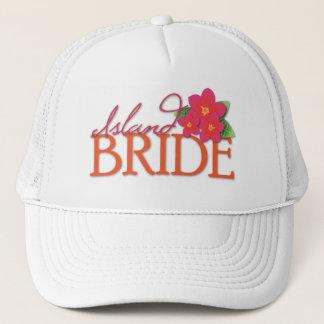 Island Bride Trucker Hat