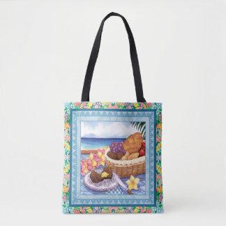 Island Cafe - Breakfast Lanai Tote Bag