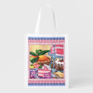 Island Cafe - Guava Chiffon Desert Reusable Grocery Bag