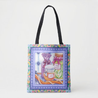 Island Cafe - Jams and Pickled Mangoes Tote Bag