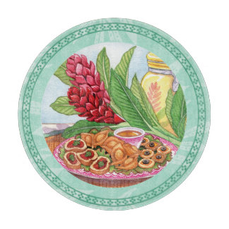 Island Cafe - Party Pupus Cutting Board