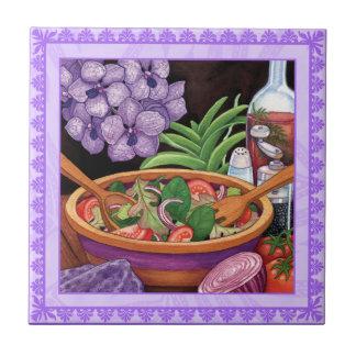 Island Cafe - Tropical Salad Tile