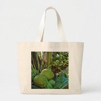 Island Coconuts Large Tote Bag