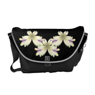 Island Diva Gold Fleur Messenger Bag