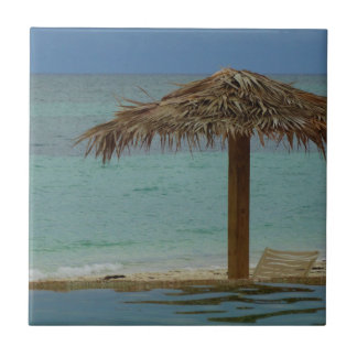 Island Dreaming Small Square Tile