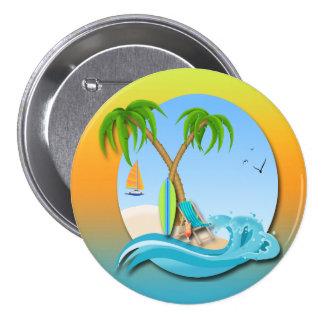 Island Dreams Button