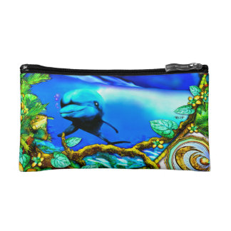 Island Echoes Cosmetic Bag