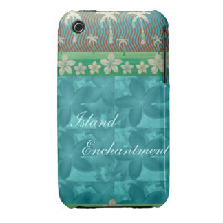 Island Enchantment Blue Case-Mate iPhone 3 Case