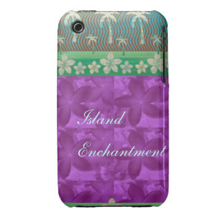 Island Enchantment Purple Case-Mate iPhone 3 Cases