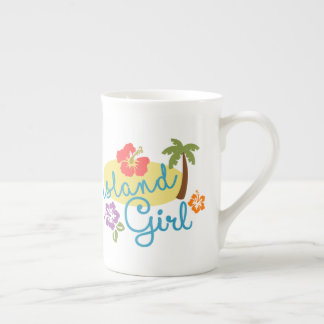 Island Girl - Beautiful Tropical Tall Mug