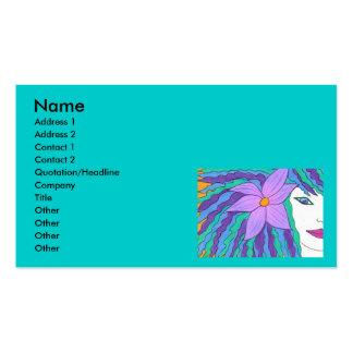Island Girl Business Card Template