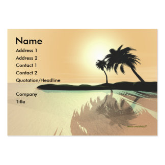 Island Gold - Chubby Pack Of Chubby Business Cards
