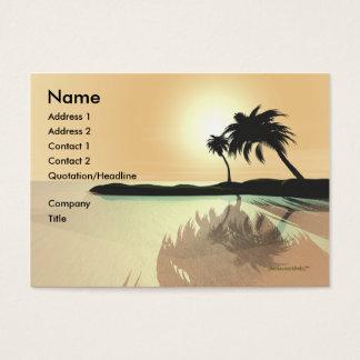 Island Gold - Chubby Business Card
