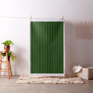 Island green/black broader, gold pin stripe fabric