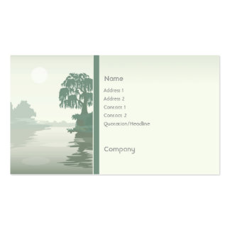 Island Green Pack Of Standard Business Cards