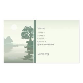 Island Green Business Card Template