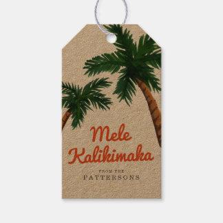 Island Greeting Gift Tags